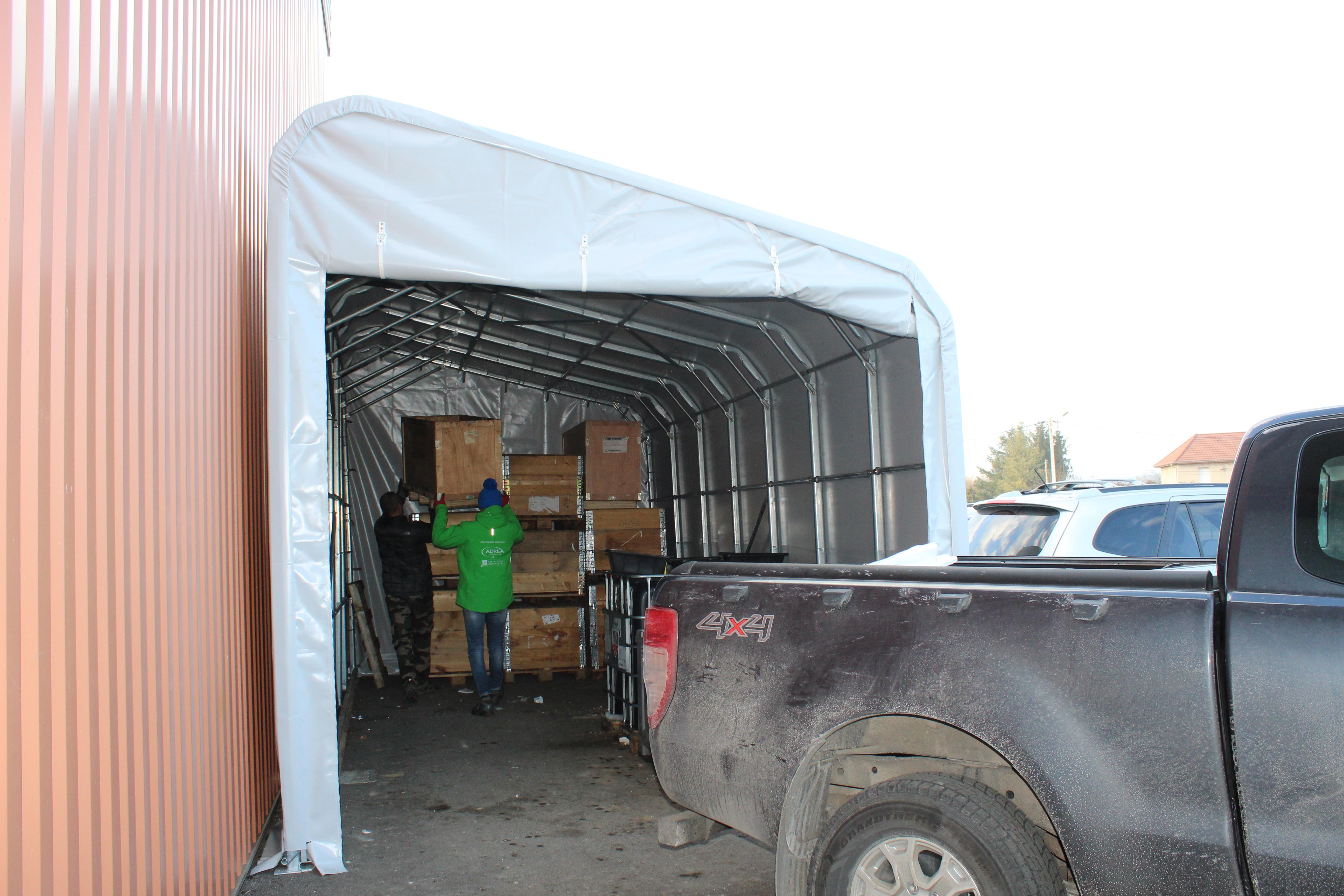 Le garage d montable ibriska facile et solide protection - Abri pour bateau ...